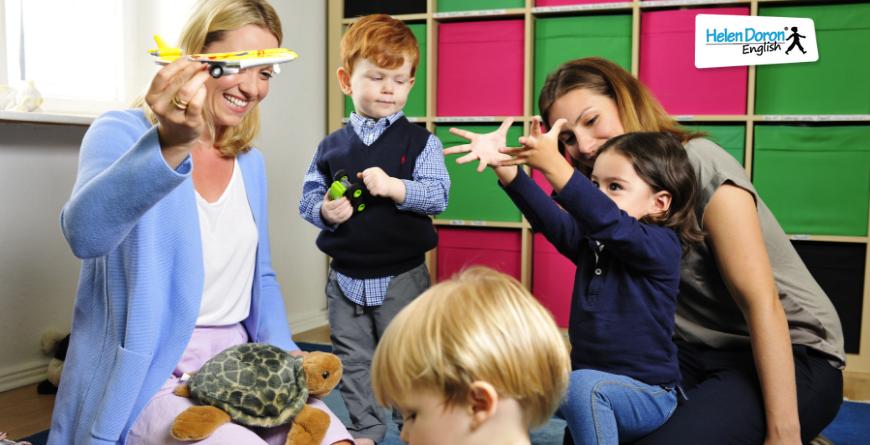 учене чрез игра, английски за деца