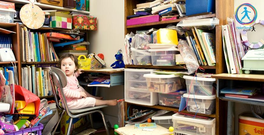 декорации в стаята , английски за деца, английски за бебета